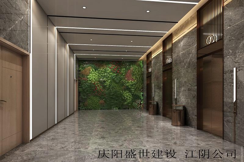 汇鑫大楼电梯厅